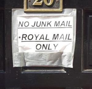 no junkmail