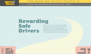 Drive Smart homepage